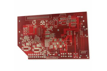 双面红油喷锡板